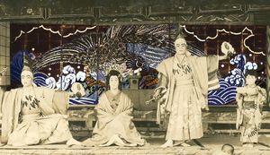 神山町の襖からくりを紹介した4K映像作品の一場面(えんがわ提供)