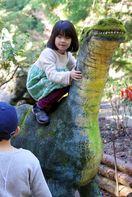 勝浦「恐竜の里ウオークラリー」 太古の世界に思いはせ