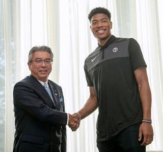 NBA八村選手「すごく楽しみ」