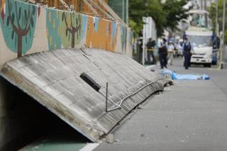 3年前にブロック塀の危険性指摘