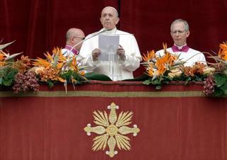 ローマ法王「残酷な暴力」と批判