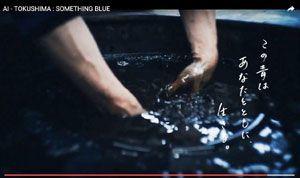 徳島県が阿波藍をPRしようと制作した「AI―TOKUSHIMA SOMETHING BLUE」の一場面