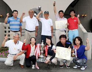 3年連続21度目の優勝を果たした徳島城東チーム