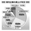 ベア実施34.3% 19年度徳島県内主要企業6.5…