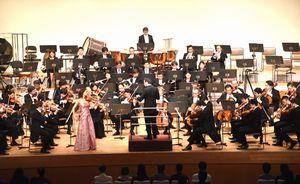 重厚な演奏で聴衆を魅了したNHK交響楽団の演奏会=鳴門市文化会館