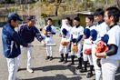 地元ファン、チーム結成し海部中3球児の練習を手助け