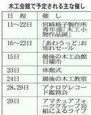 29日で休館 徳島市木工会館 感謝込めお別れイベン…