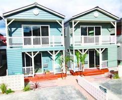 1人暮らし向けの一戸建て賃貸住宅「ビーチハウス」=北島町中村