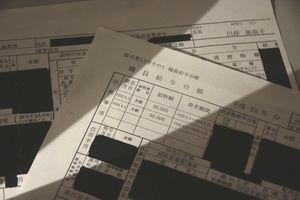 情報公開請求で21日に開示された県の公文書。川岸氏の政策参与時代の報酬額が9万円と記されている