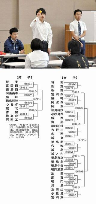 高校バレー徳島県予選 28日開幕 全国切符懸け激突