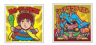 40周年ガンダムとビックリマンが奇跡のコラボ 「ガンダムマンチョコ」連邦・ジオンの2種類発売