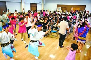 小松島の障害者施設 利用者と住民が夏祭りで交流