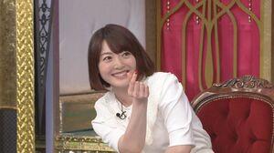「今夜くらべてみました」に出演する花澤香菜 (C)日本テレビ
