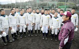 富岡西が選抜高校野球21世紀枠候補 地域貢献など評価