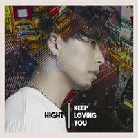HighTさんのアルバム「KEEP LOVING YOU」のジャケット