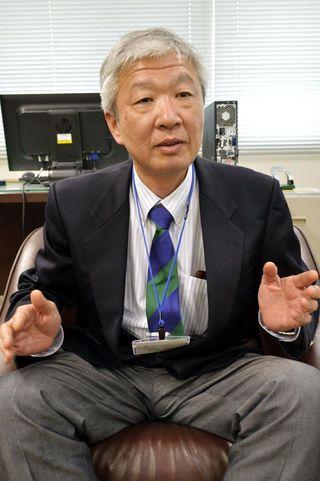 徳島地方気象台長に就任した 天満仁(てんまひとし)さん