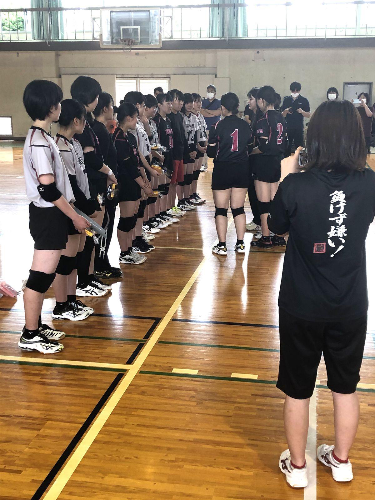代替大会前に引退決めた3年生の 最後の試合 スポーツ 徳島ニュース 徳島新聞