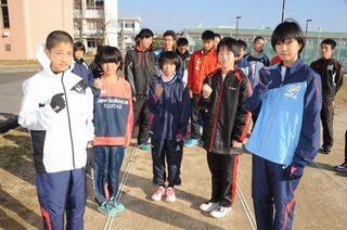 第64回徳島駅伝 小学生区間前回V選手、中学生で本戦へ