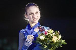 ロシアのアレクサンドラ・トルソワ=1月、オーストリア・グラーツ(タス=共同)