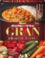 大塚食品が発売する「ボンカレーグラン」の太陽のはぐくみキーマカレー