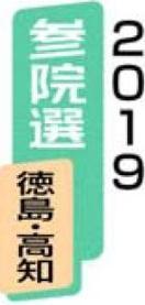 2019参院選徳島・高知 野党統一候補協力態勢の協…