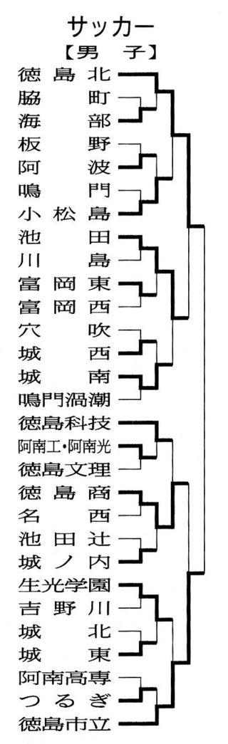 徳島県高校総体 サッカーの試合結果(6月3日)
