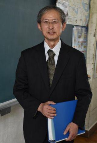 徳島県小学校長会長に就いた南小松島小校長 増田章生(ますだあきお)さん