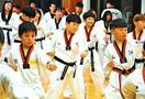 政治・民間関係なし 日韓の子、徳島市でテコンドー交流
