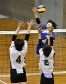 バレーボール 富田3年連続の栄冠 男子は南部11度…