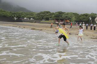 美波町の田井ノ浜海水浴場、今夏開設中止