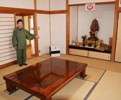 平等寺がシームレス民泊に提供する部屋=阿南市新野町
