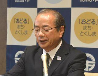 アミコビルへの新ホール整備 徳島市長、改めて否定