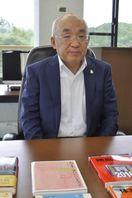 上原寿明さん(世界思想社教学社社長)