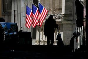 ニューヨーク証券取引所=14日(AP=共同)