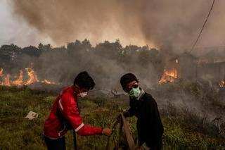 東南アジアで煙害深刻