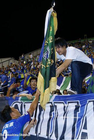 徳島ヴォルティス4連勝 1-0で愛媛との四国ダービー制す
