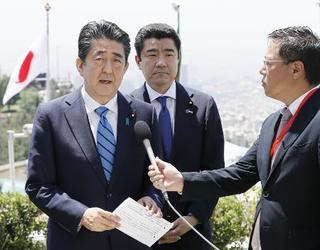 米紙「安倍氏は初心者」と報道