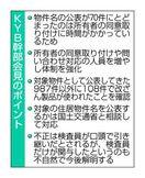 KYB、免震不正70件公表 徳島県内含まれず