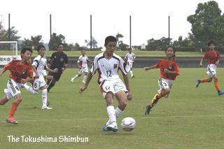 吉野川SCオーレが優勝 徳島県サッカー少年団大会 8月24日の試合結果
