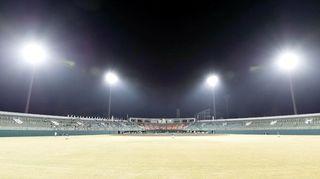 ナイター照明をLED化 徳島・鳴門オロナミンC球場