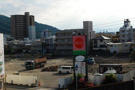 ハローズが佐古店の出店を計画する用地=徳島市佐古三番町
