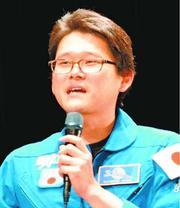 宇宙食の技術活用に期待 被災地や紛争地の助けに 金井宣茂さん徳島市で講演