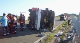 北海道のバス横転事故で無罪確定