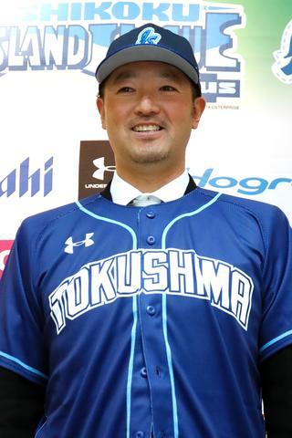 徳島インディゴソックスの新監督に就任する 牧野塁(まきのるい)さん