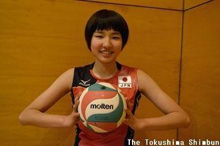 目標は強豪校でのレギュラー獲得と全国制覇 女子バレーの西川吉野選手(徳島市出身)