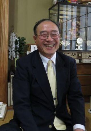 松家和由さん(近畿・美馬市ふるさと会会長)