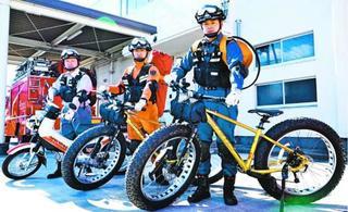 災害現場に車より早く 名西消防組合が「バイク隊」発足へ