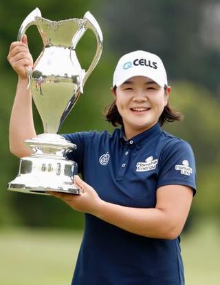 女子ゴルフ、イ・ミニョンが優勝