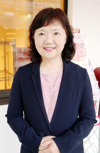 徳島経済同友会代表幹事になったあわわ会長 坂田千代子(さかたちよこ)さん