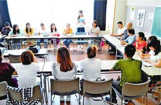 連載共生への道徳島の外国人材を考える 21 第3部支援体制③ 日本語教育(上)